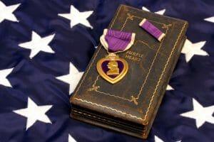 Purple Heart Medal Unclaimed Money