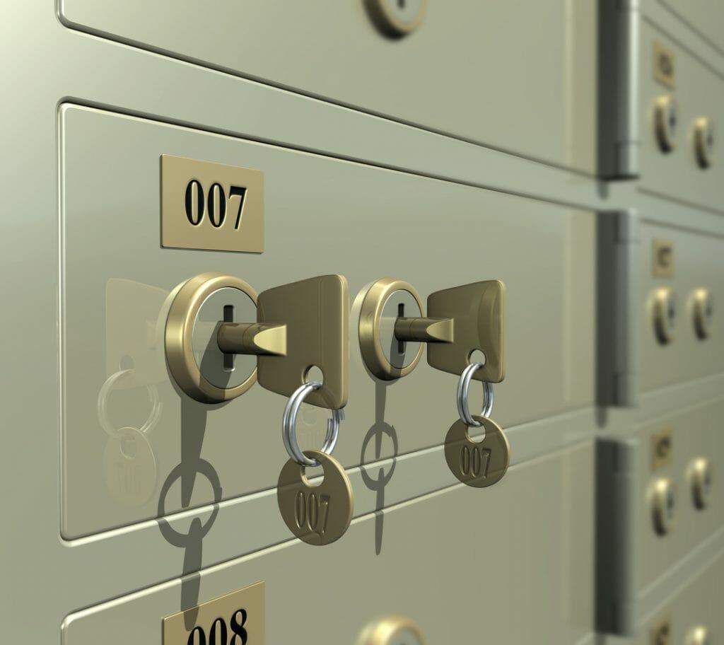 Unclaimed War Medals Safe Deposit Box