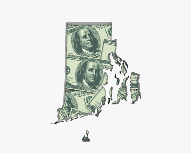 Rhode Island unclaimed money check